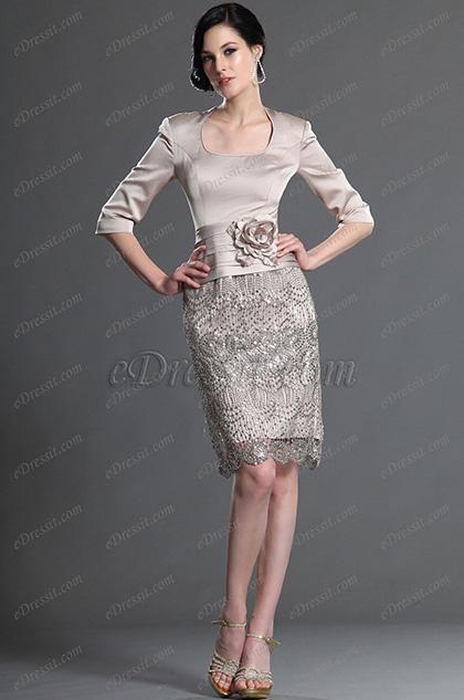 elegant dresses for wedding guests photo - 1