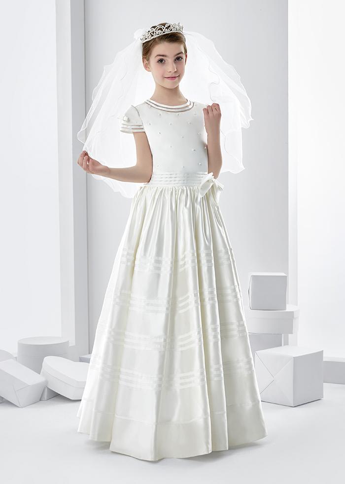 elegant first communion dresses photo - 1