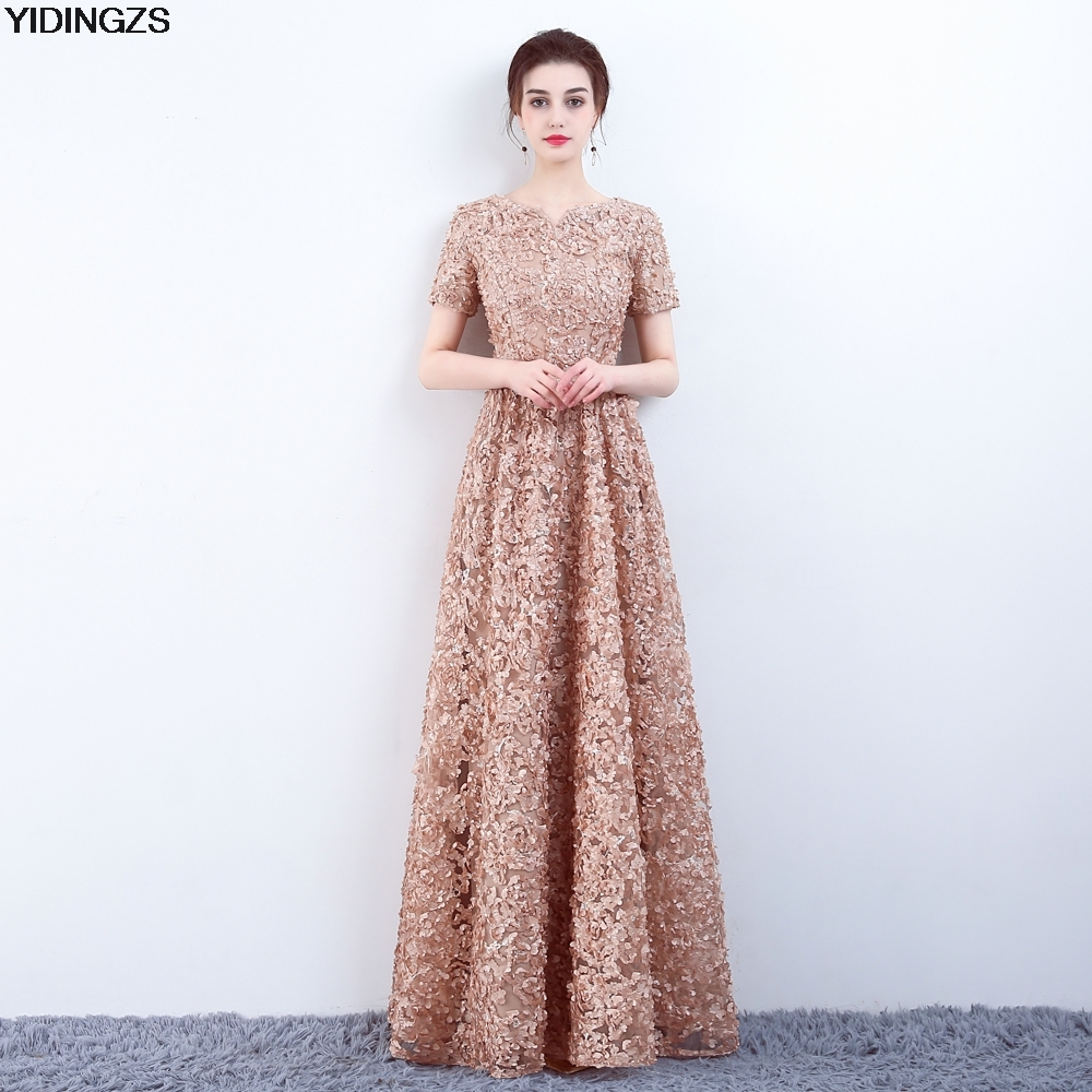 elegant gown dresses photo - 1