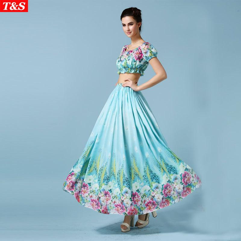 elegant hawaiian dresses photo - 1