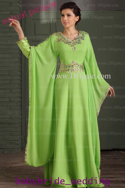 elegant kaftan dresses photo - 1