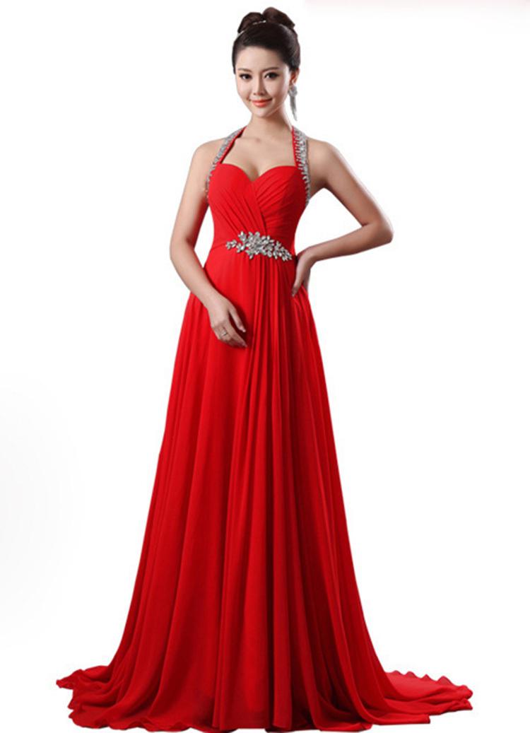 elegant mermaid prom dresses photo - 1