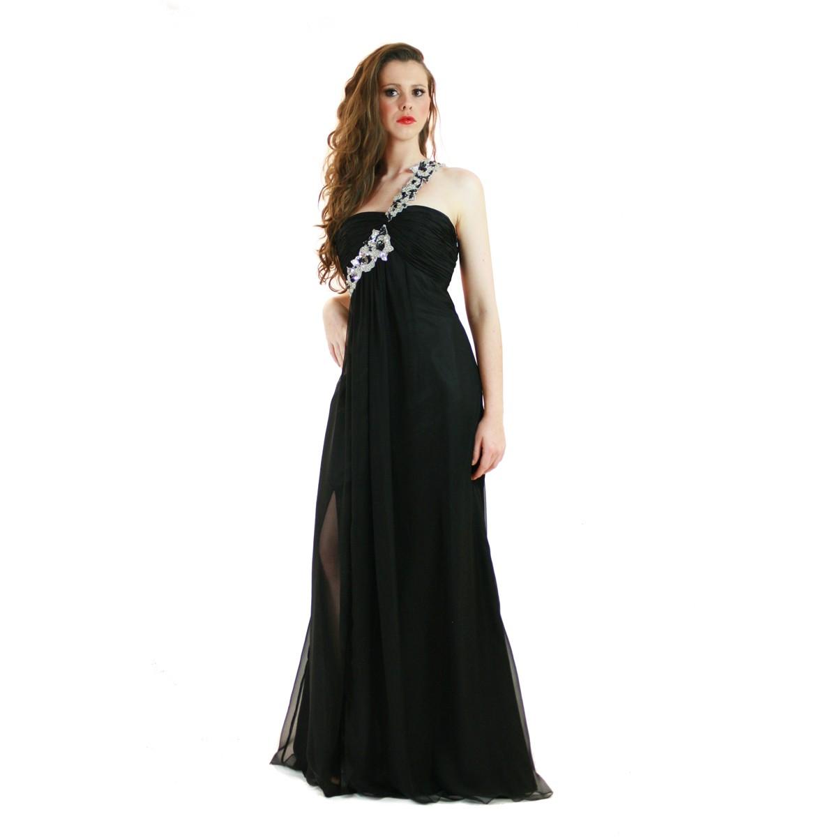 elegant one shoulder dresses photo - 1