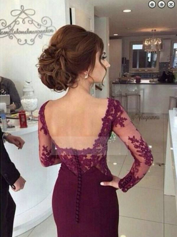 elegant party dresses with sleeves photo - 1