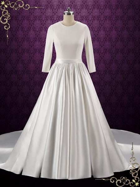 elegant plus size white dresses photo - 1