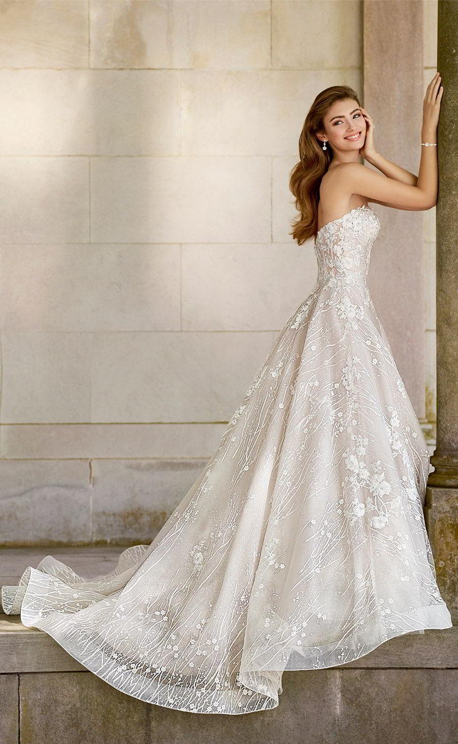 elegant strapless dresses photo - 1