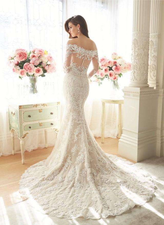 elegant wedding dresses 2016 photo - 1