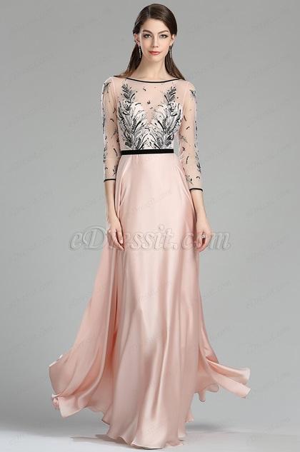 empire waist evening dresses photo - 1