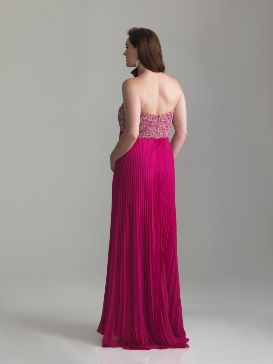 evening dress for maternity photo - 1