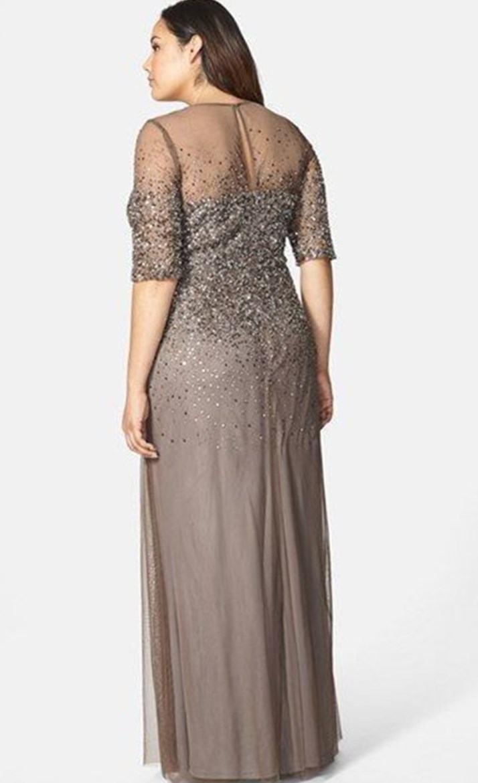 evening dresses for weddings plus size photo - 1