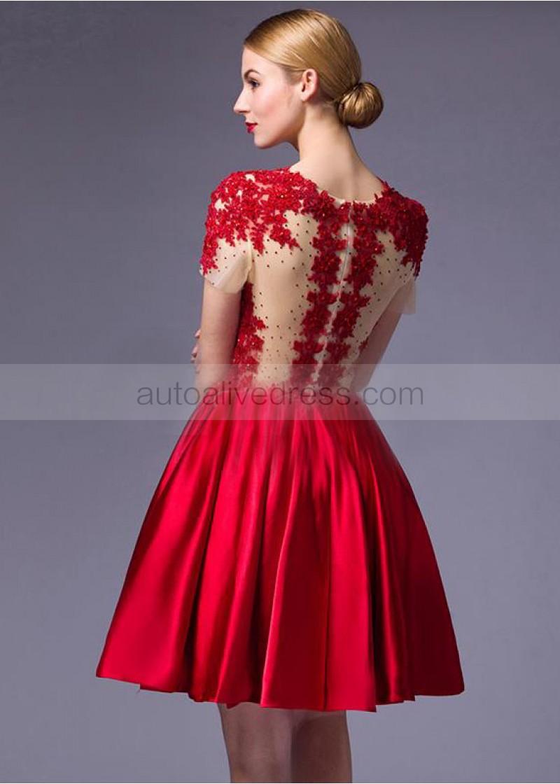 evening dresses short length photo - 1
