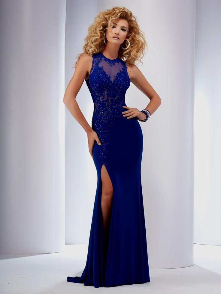 fitted evening dresses photo - 1