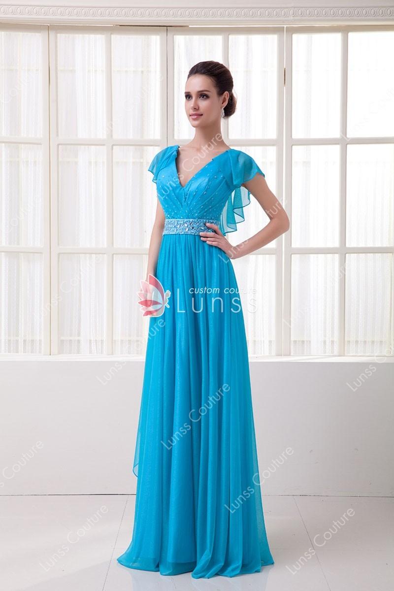 long elegant evening dresses photo - 1