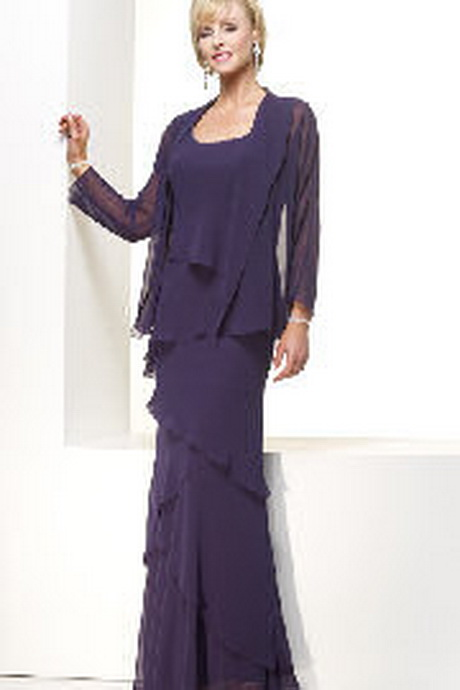 long evening dresses with jackets photo - 1