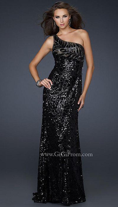 long sleeve black evening dresses photo - 1