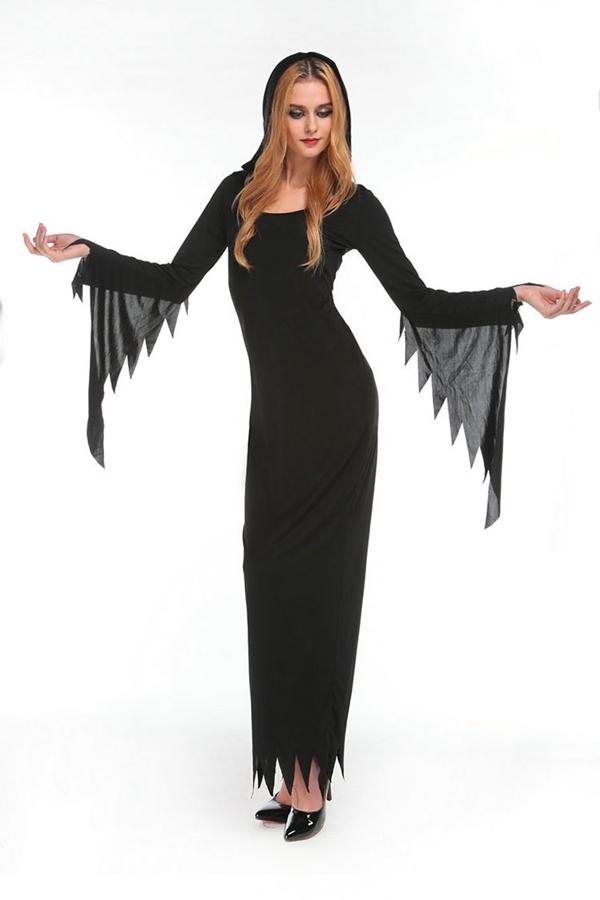 long sleeve evening maxi dresses photo - 1