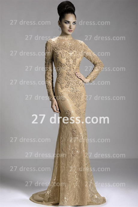 long sleeve short evening dresses photo - 1