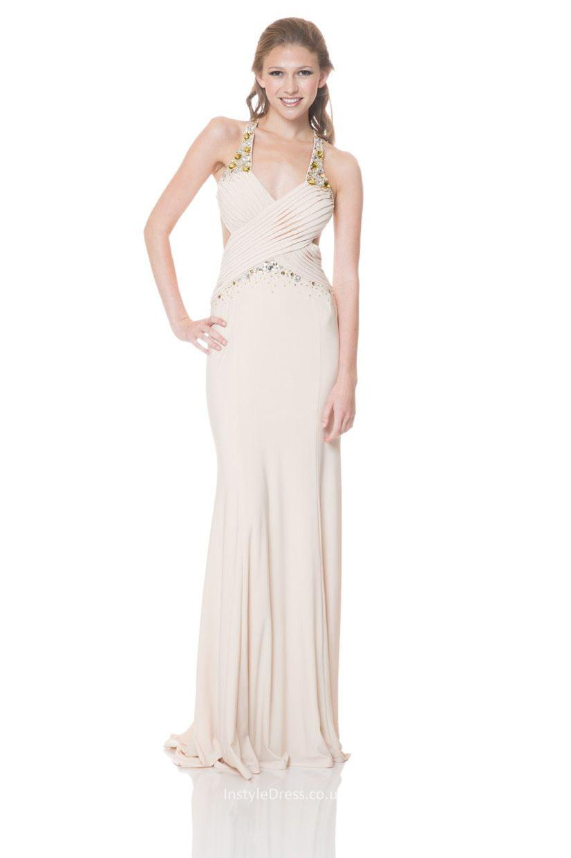 mermaid style evening dress photo - 1