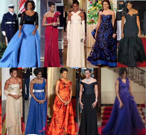 michelle obama evening dresses photo - 1