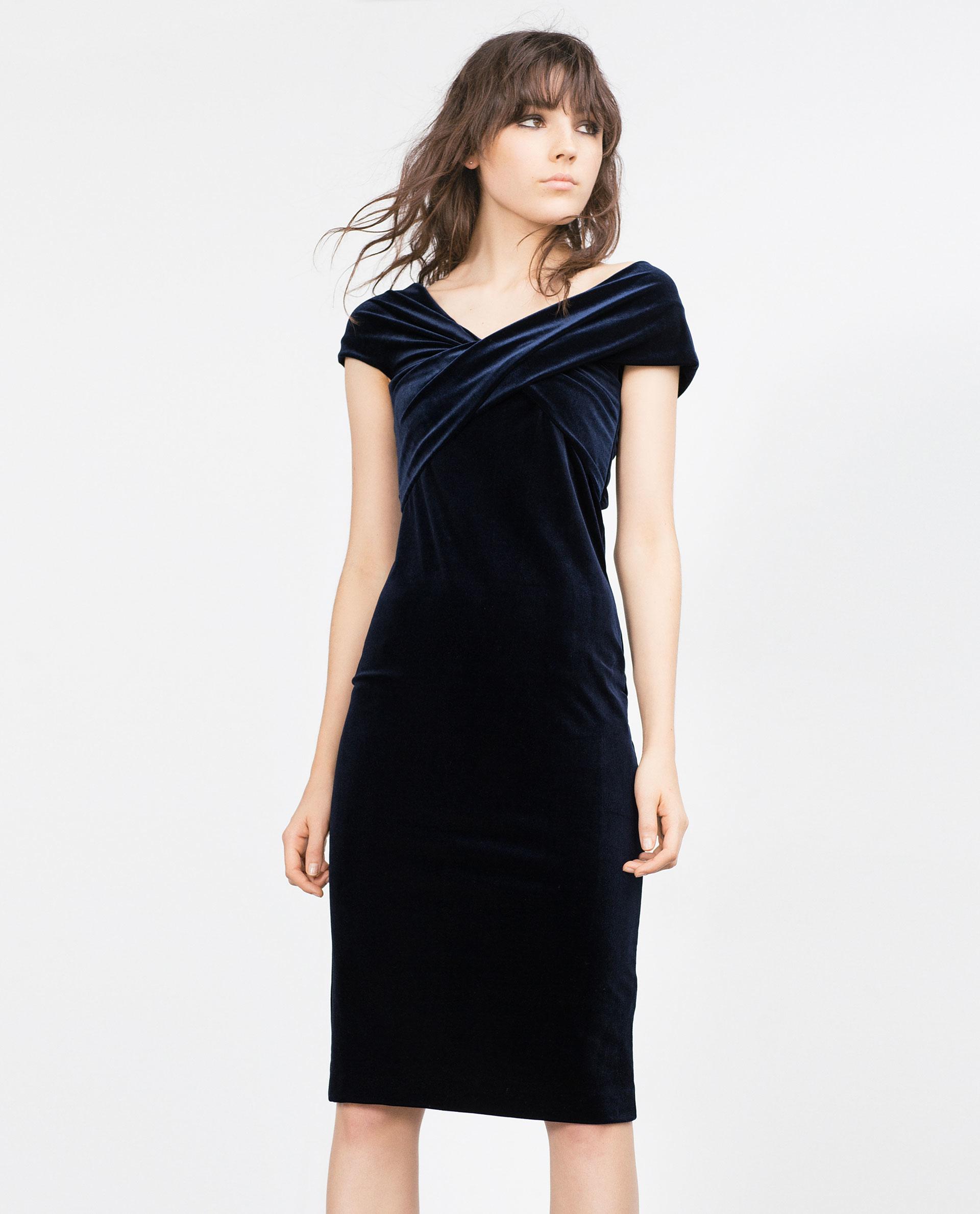 midnight velvet evening dresses photo - 1