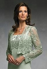 mother of the bride evening dresses with jackets photo - 1