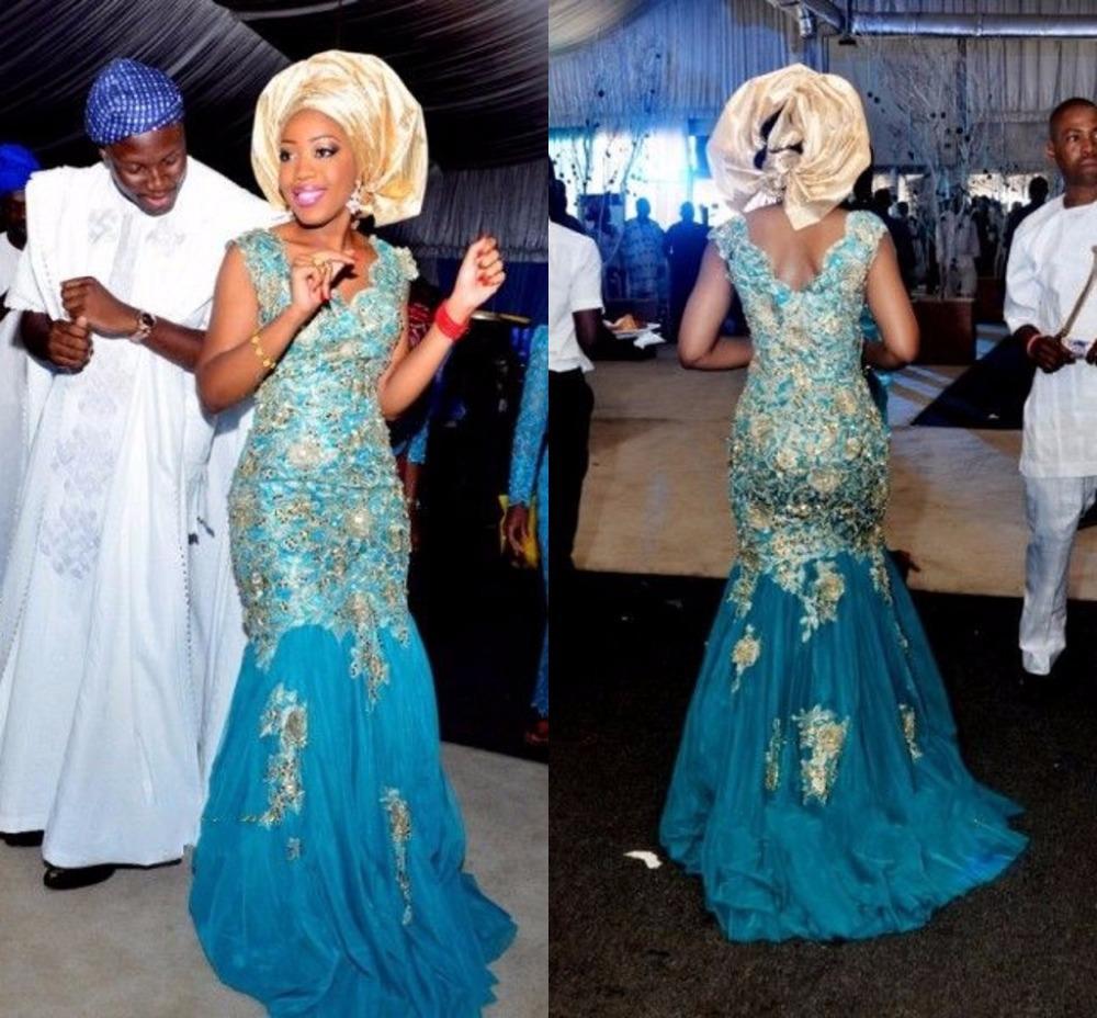 nigerian evening dresses photo - 1