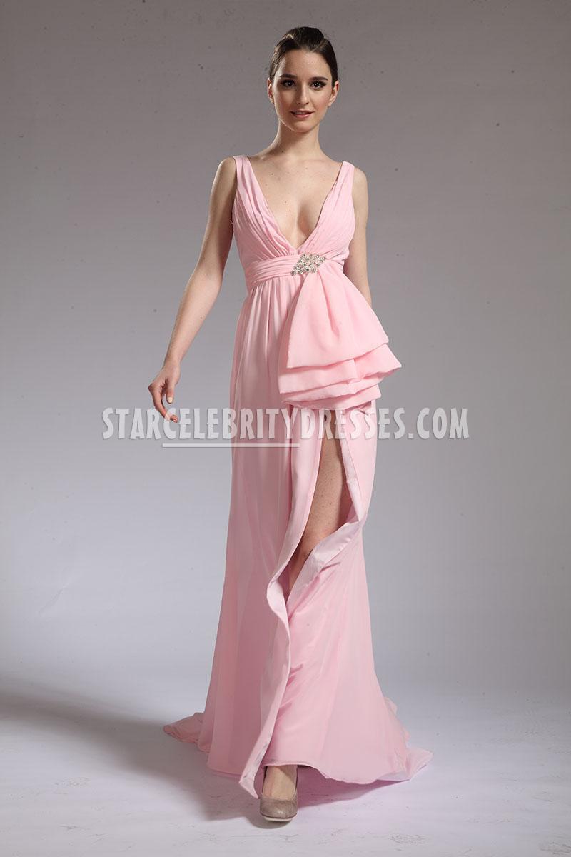 pink red carpet dress photo - 1