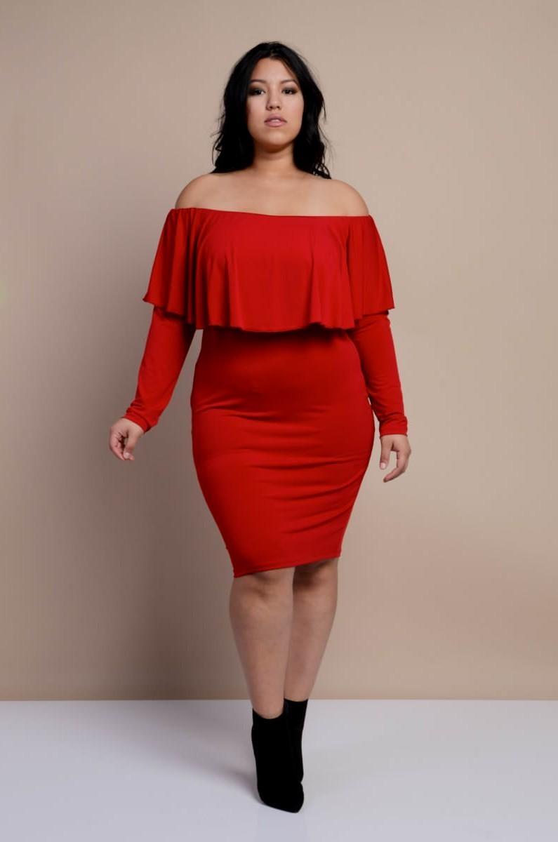 plus size dresses evening wear photo - 1