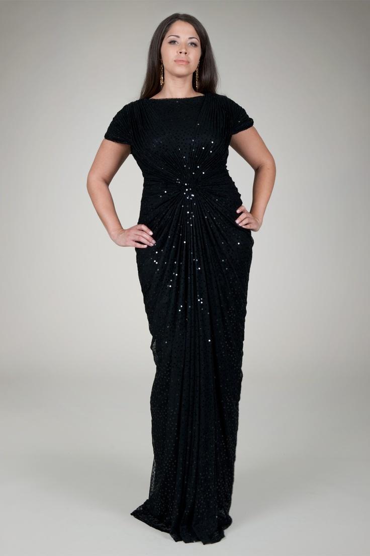 plus sizes evening dresses photo - 1