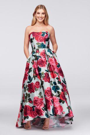 printed evening dresses photo - 1