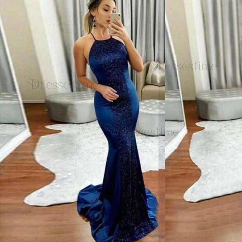 royal blue evening dresses plus size photo - 1
