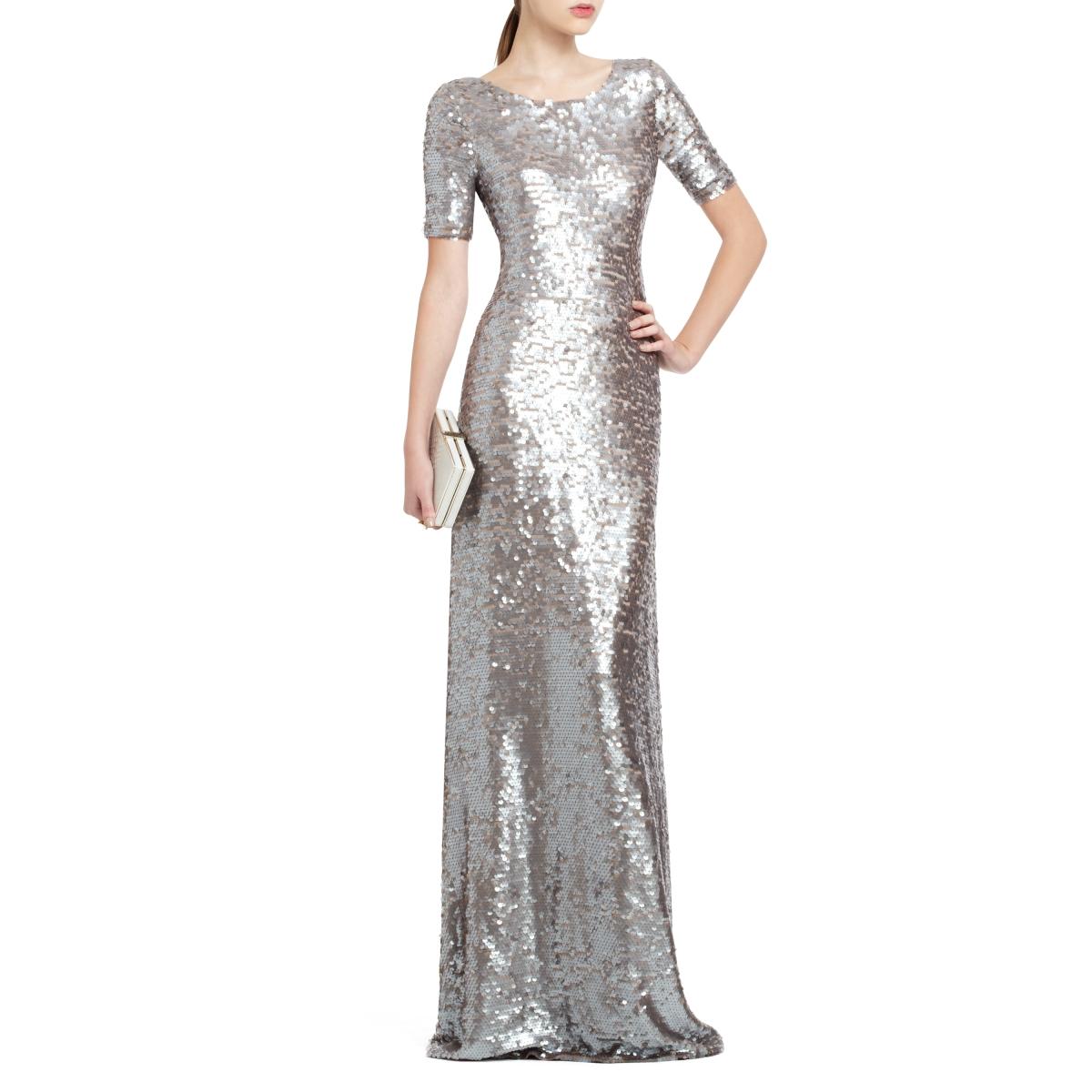 sequin evening dress photo - 1