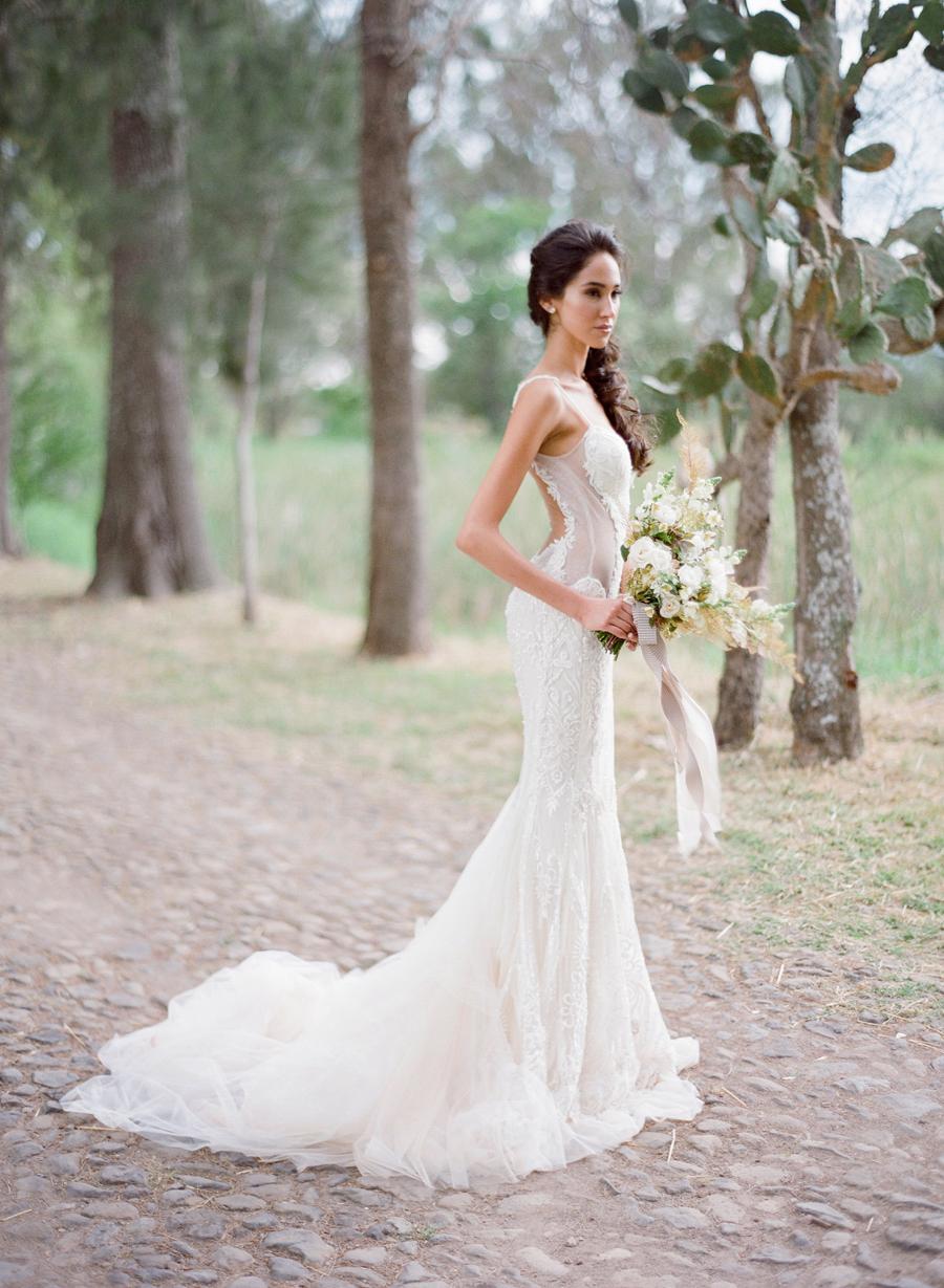 sexy elegant wedding dresses photo - 1