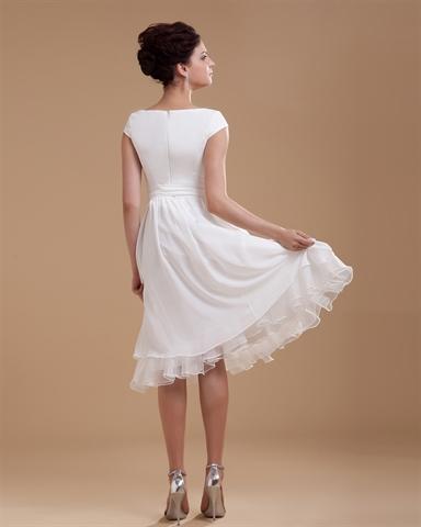 simple elegant beach wedding dresses photo - 1