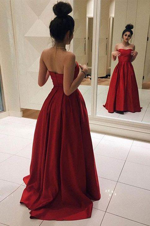 simple elegant prom dresses photo - 1