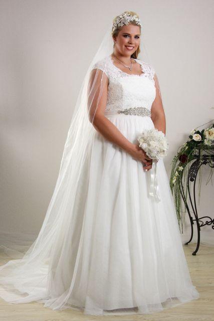 simple elegant wedding dresses with sleeves photo - 1