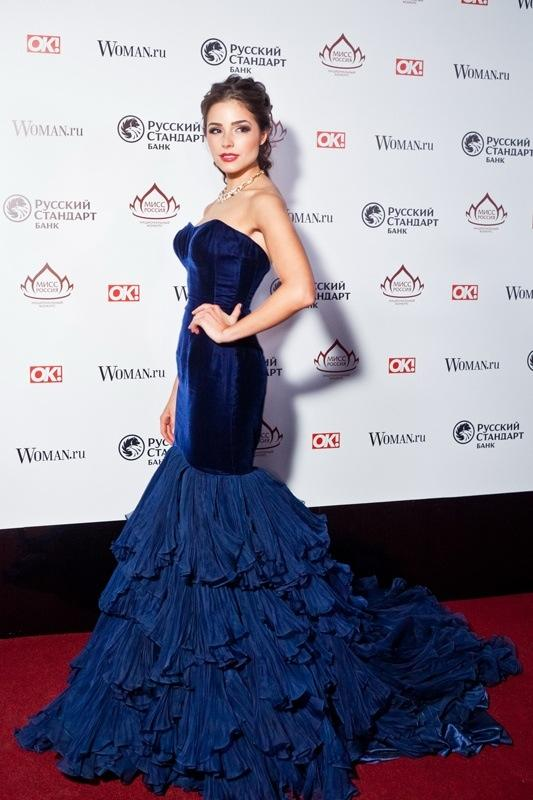 velvet evening dress photo - 1