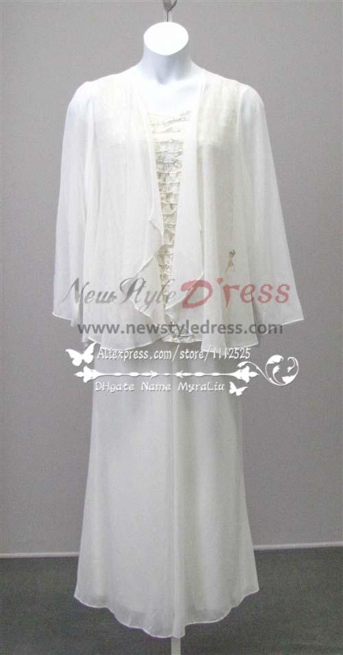 white plus size evening dresses photo - 1